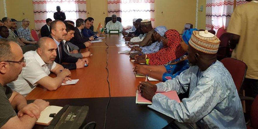 Nijer-Türkiye Dostluk Hastanesi açılışında sona doğru