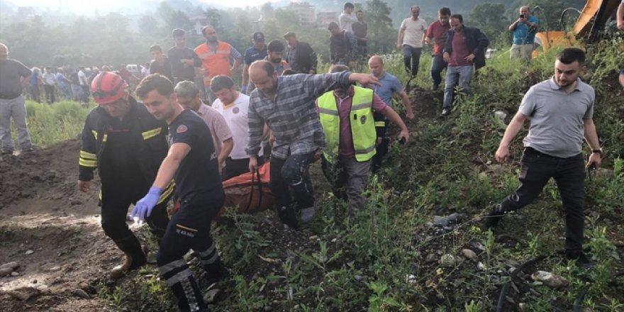 Trabzon'daki sel felaketinde 3 kişi hayatını kaybetti