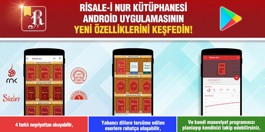Risale-i Nur Kütüphanesi Android Uygulamasının Yeni Özelliklerini Keşfedin!