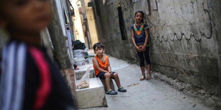 Gazze nüfusunun 3'te 2'si mülteci
