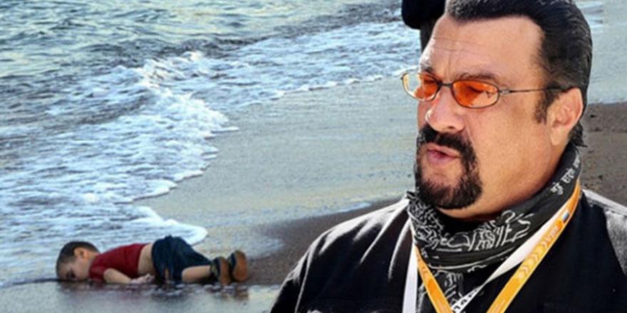 Steven Seagal 'Aylan Bebek' için Türkiye'ye geliyor
