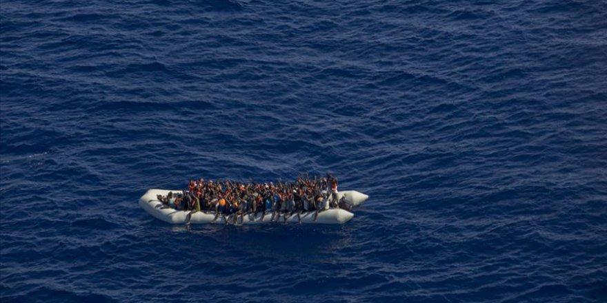 Göçmenler için Akdeniz'de acı tablolar var