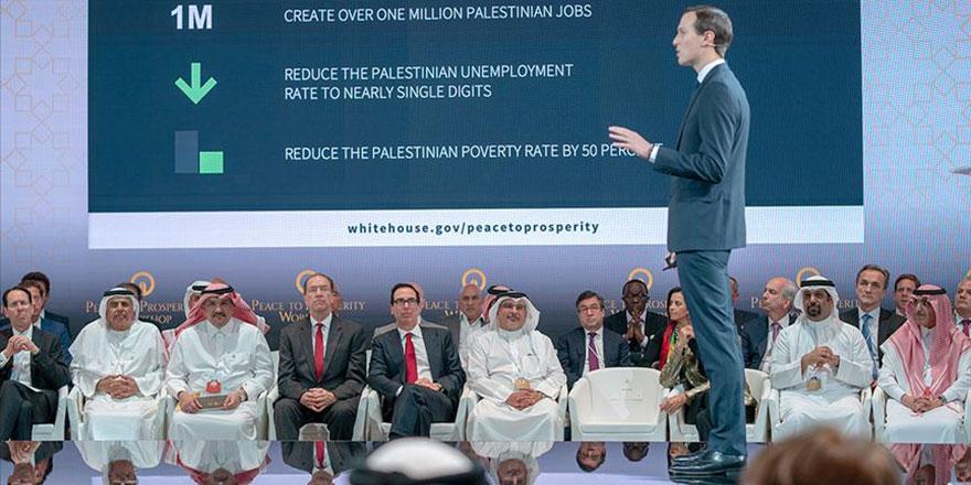 Trump'un Yahudi damadı Filistin'i yok edecek planı anlattı Araplar dinledi