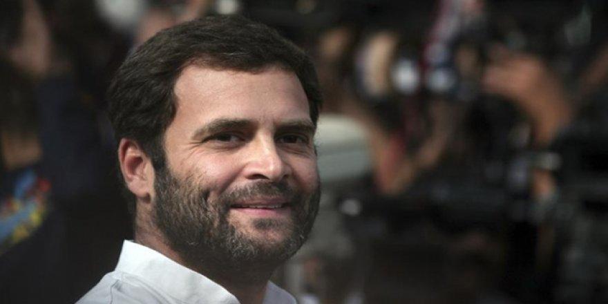 Hindistan'da muhalefet lideri Rahul Gandi istifa etti