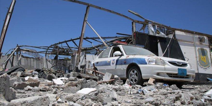 Hafter güçlerinin göçmenleri hedef aldığı merkez boşaltıldı