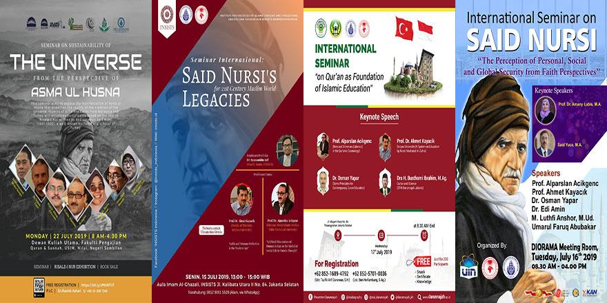 Avustralya, Endonezya ve Malezya'da Said Nursi konferansları