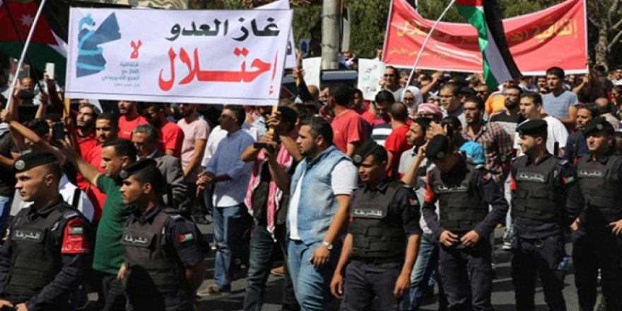 Ürdün'de İsrail'le doğalgaz anlaşmasının iptali için imza kampanyası