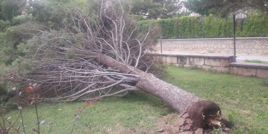 Nevşehir'de fırtına