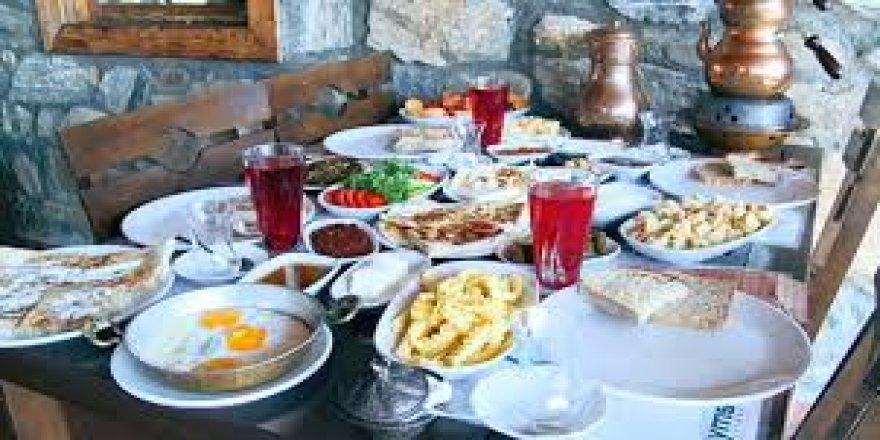 Zeyniler köyünün yöresel kahvaltısı