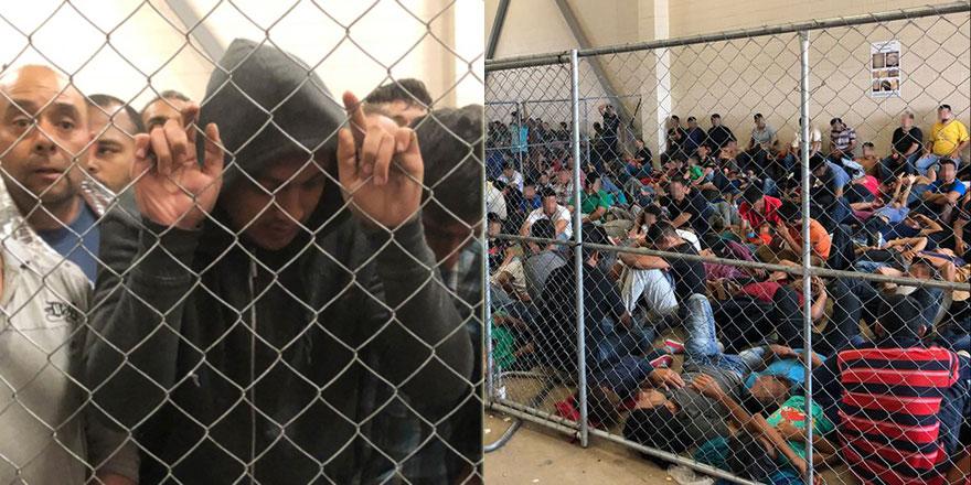 ABD'de göçmen merkezlerinde tutulanlar Trump yönetimine dava açtı