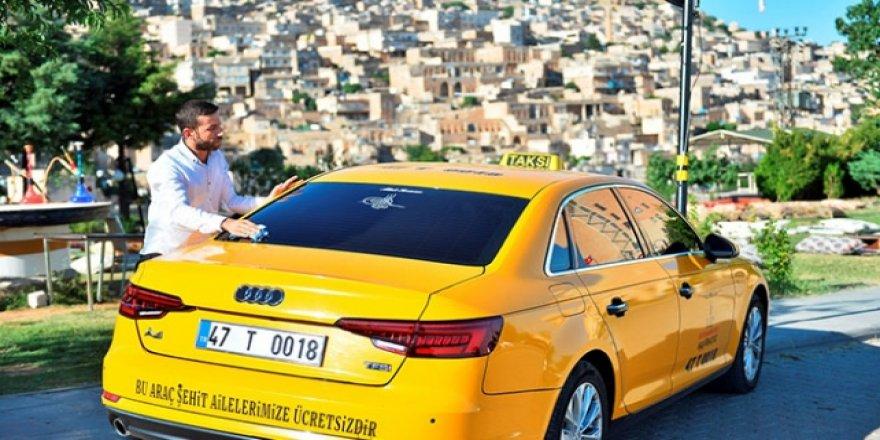 Mardinli taksiciden örnek hareket