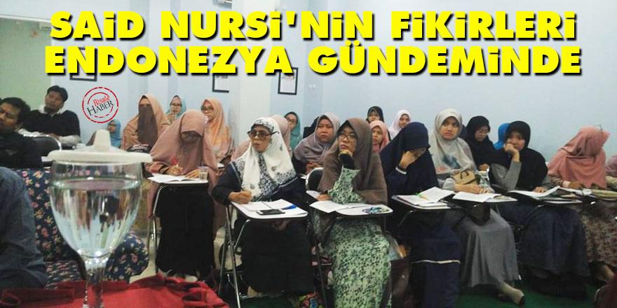 Said Nursi'nin fikirleri Endonezya gündeminde