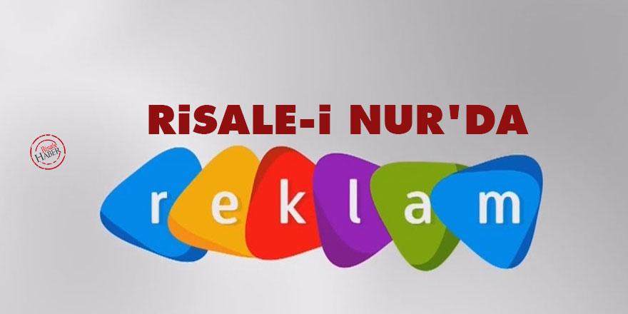 Risale-i Nur'da Reklam