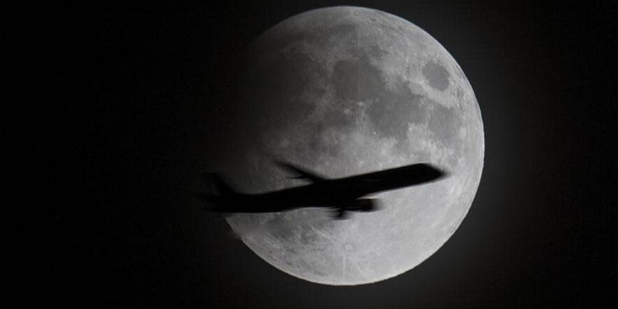 'Parçalı ay tutulması' göründü, husuf namazı kılındı