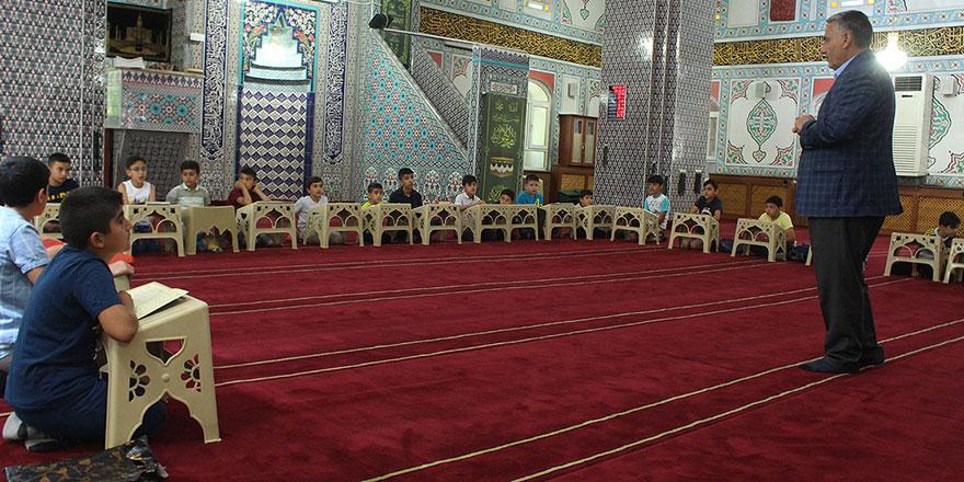 4-6 yaş Kur'an kurslarında karne heyecanı