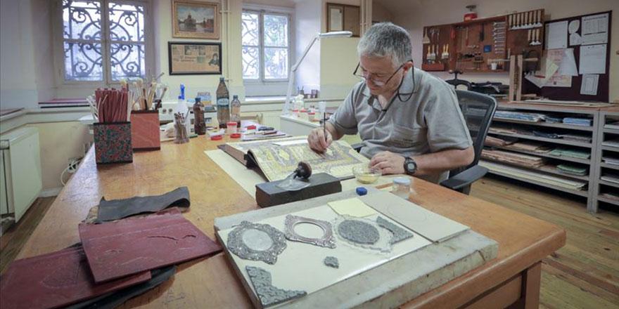 Ballı, altınlı 455 yıllık Kur'an-ı Kerim restore ediliyor