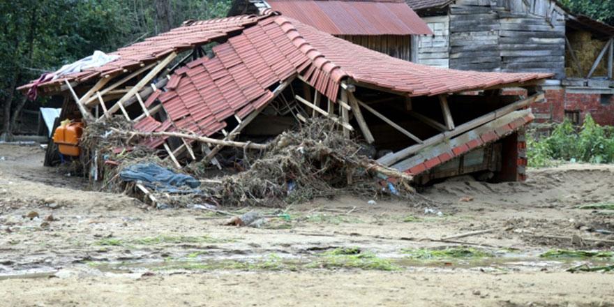 Düzce'ye 24 saatte 1 yıllık yağmur yağdırıldı