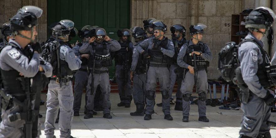 İsrail polisinden Filistinli çocukların bulunduğu anaokuluna baskın