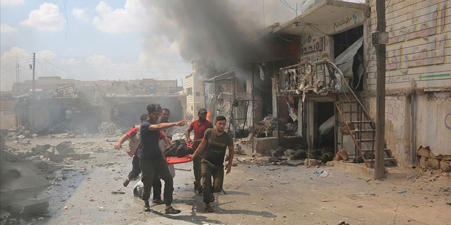 Rusya'dan İdlib'te yeni katliam: 3'ü çocuk 17 sivil öldürüldü