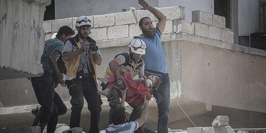 Rusya ve Esed rejimi İdlib'te 3 ayda 781 sivil öldürdü