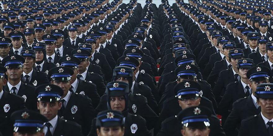 Polis Akademisinde son 5 yılda 90 binin üzerinde polis memuru yetişti