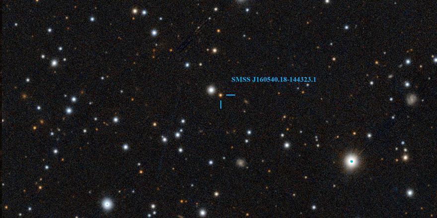 Kainattaki en yaşlı yıldızlardan biri keşfedildi