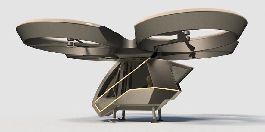 2025'te ilk yerli uçan araba göklerde