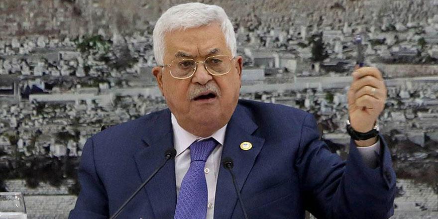 Filistin Devlet Başkanı Abbas: Yahudi yerleşim birimlerinin tamamı yok olacak