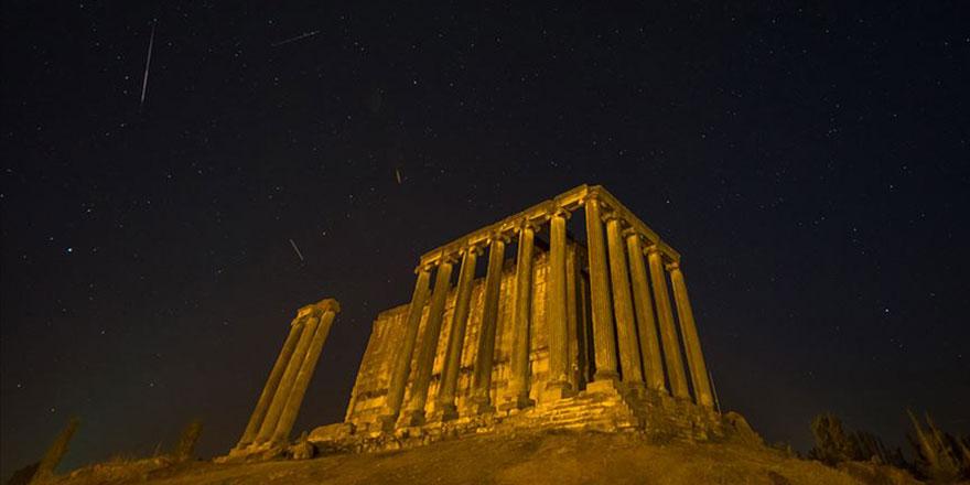 Gökyüzünde yıldız kayması, Perseid şöleni devam ediyor
