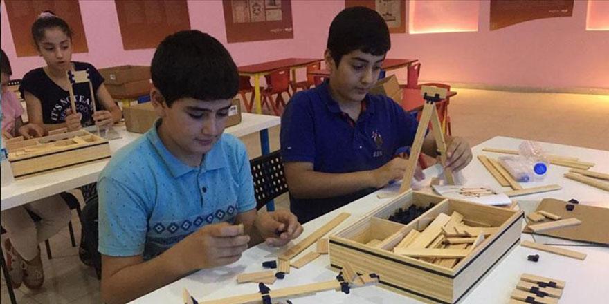 El Cezeri Cizreli çocuklara ilham kaynağı oluyor