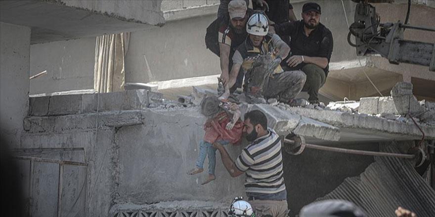 Rusya ve Esed İdlib'de soykırım yapıyor: 26 Nisan'dan bu yana 843 sivil öldürüldü