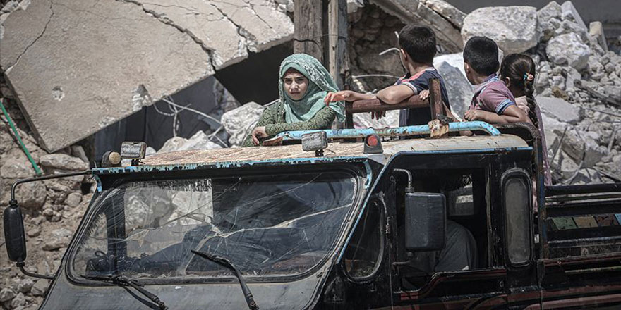 İdlib'de yerinden edilenlerin sayısı 1 milyona yaklaştı