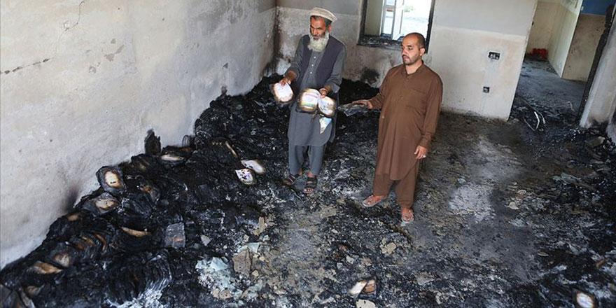 Bu İslam'ın neresinde var? Taliban kız lisesini ateşe verdi