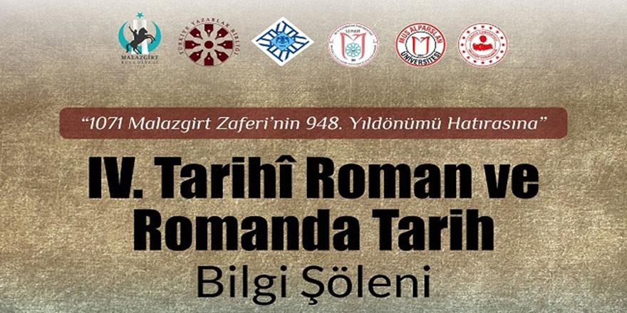 4. Tarihi Roman ve Romanda Tarih Bilgi Şöleni