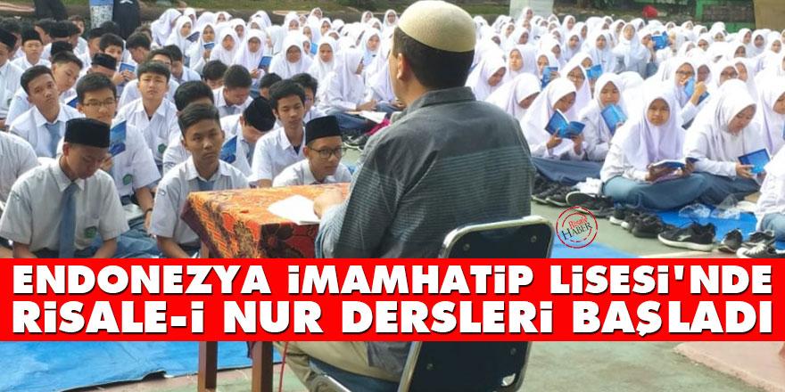 Endonezya İmamhatip Lisesi'nde Risale-i Nur dersleri başladı
