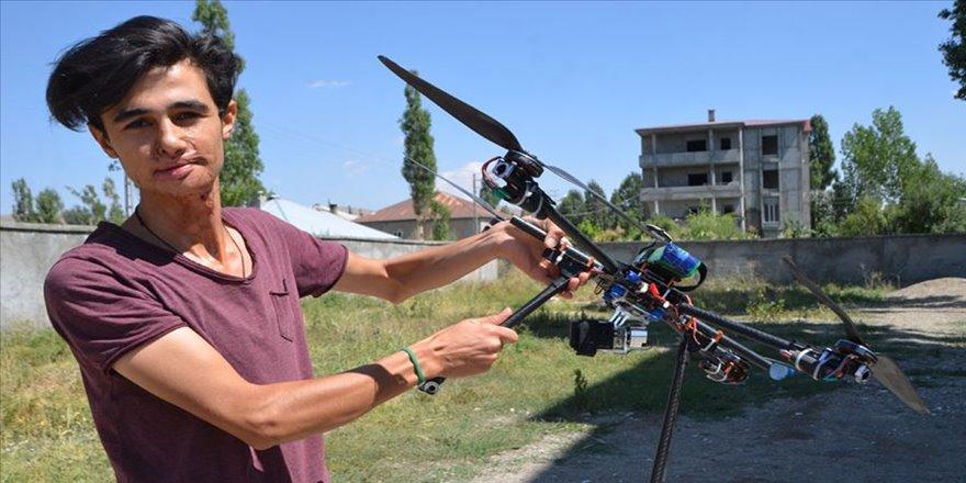 Hurdadan drone yapan genç, TEKNOFEST'e katılıyor