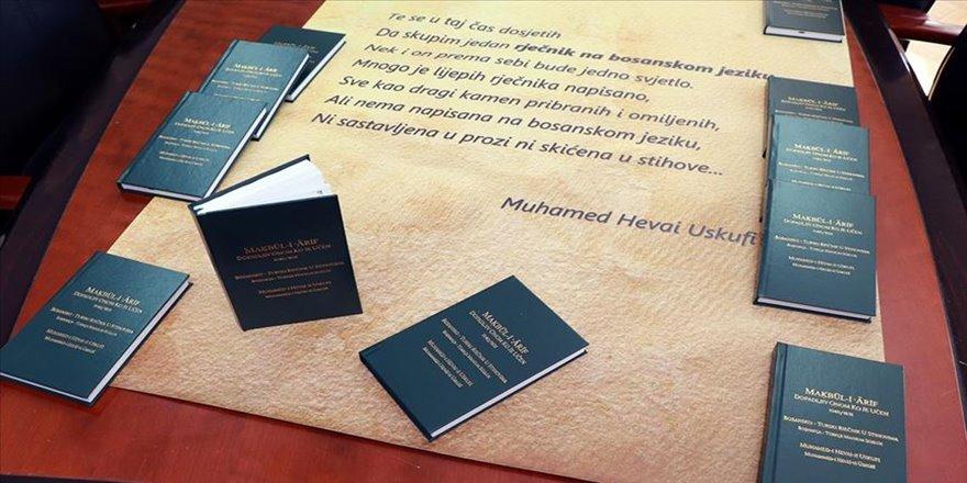 İlk Türkçe-Boşnakça sözlük 'Makbul-i Arif' yeniden basıldı