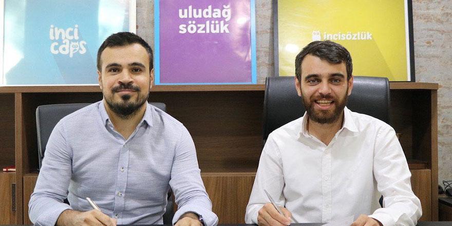 Uludağ Sözlük ve İnci Sözlük'ün yarısını Bursalı genç işadamı Emin Adanur satın aldı