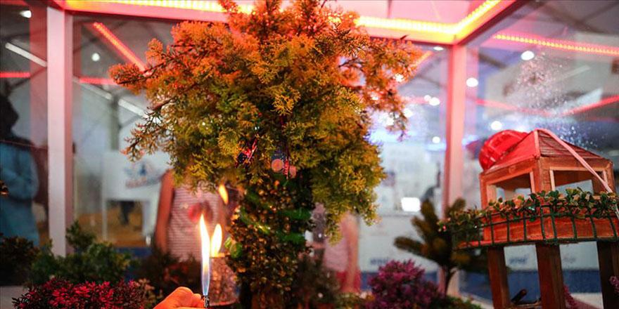 İmam hatiplilerin 'Yangın Önler Yapay Ağaç' projesi