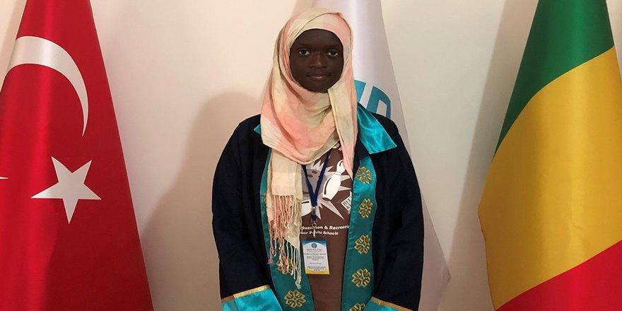 Mali Türkiye Maarif Okulları öğrencisinden büyük başarı
