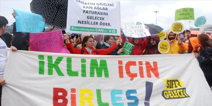 İstanbul'da iklim grevi