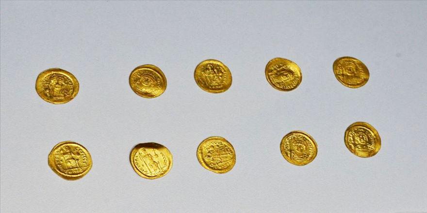 Bin 700 yıl önce de altın biriktirmişler ama öbür tarafa götürememişler!