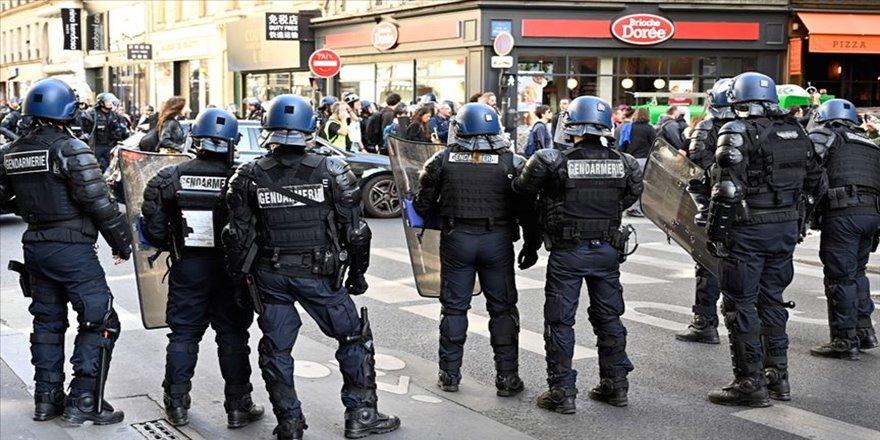 Fransa'da sarı yeleklilerin gösterileri 46. haftasında