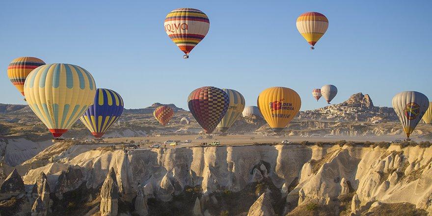 Kapadokya'yı kasım ayında 370 bin turist gezdi