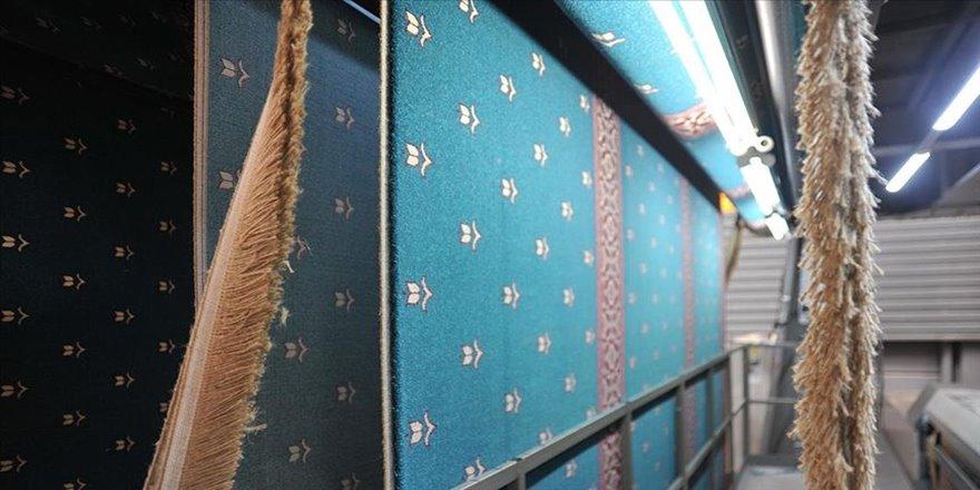 Gaziantep'ten dünyanın dört bir yanına cami halısı ihracatı