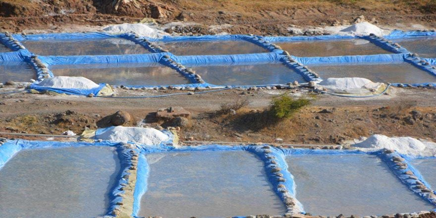 Kaya tuzu köylülerin geçim kaynağı oldu