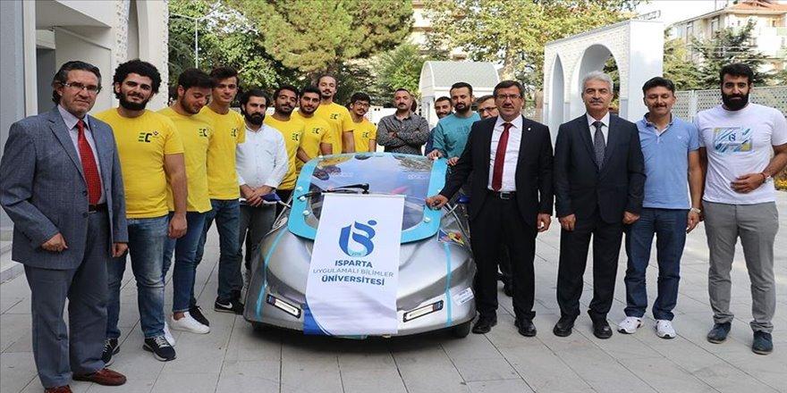 Üniversitelilerden bataryası ısıya dayanaklı elektrikli araç