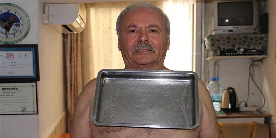 İzmirli 'mıknatıs adam'