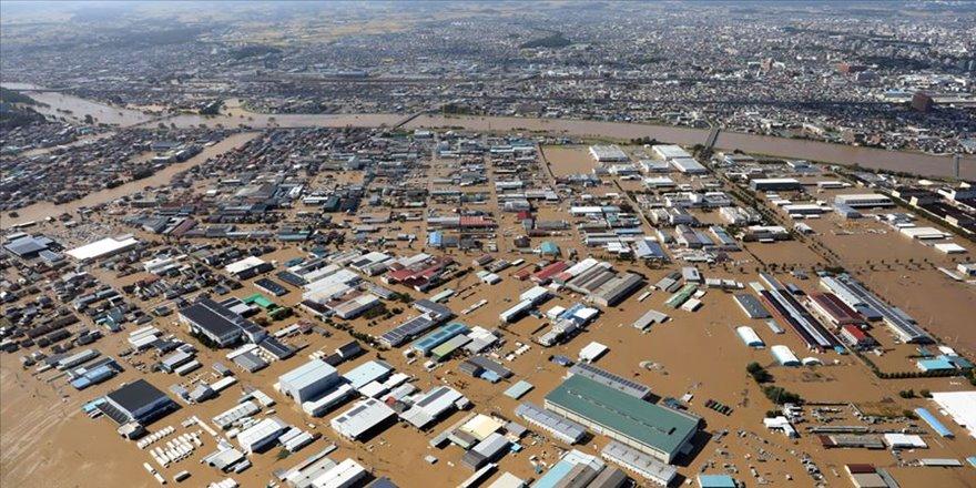 Hagibis Tayfunu Japonya'da 38,3 milyar yenlik zarara yol açtı