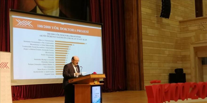Türk bilim hayatına 4 binin üzerinde 'doktoralı' katılacak